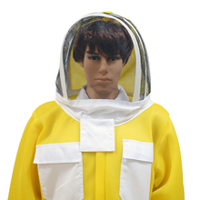 Breathable Professional Beekeeping Anti Bee Suit 3D Air Cotton Fabric Protective Clothing Bee Suit with Removable Hat Ventilated