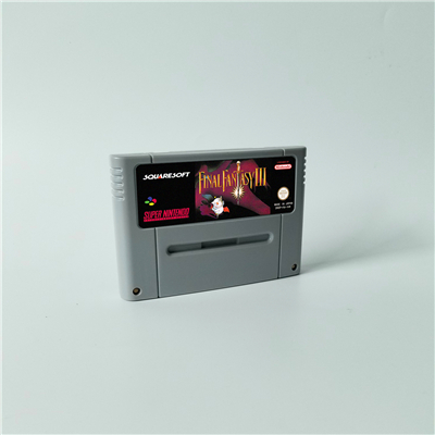 Final Game Fantasy II III IV V VI 2 3 4 5 6 or Mystic Quest - RPG Game Card EUR Version English Language Battery Save image