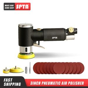 """Image 1 - SPTA ponceuse à orbite aléatoire 1 """"/2""""/3 """", Mini ponceuse pneumatique, pour le polissage des voitures, polisseuse à Air haute vitesse"""