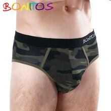 7Pcs\lot Panties Men Underwear Men Underpants Cotton Boxershorts Calecon Homme Underwear for Man Briefs Sexy Gay Jockstrap Slips