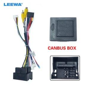 LEEWA 16-pin Car Android Stereo Wiring Harness For Peugeot 3008/2008/Citroen C4/C-Quatre/C4L/C3 XR/C5/DS6 #CA6226(China)