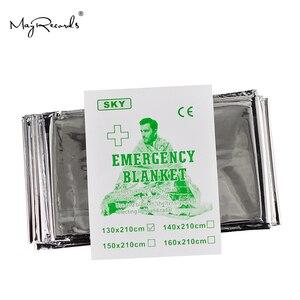 Image 3 - Бесплатная доставка, защита от холода, военное одеяло для оказания первой помощи, спасательная занавеска для выживания, спасательная палатка для использования на открытом воздухе