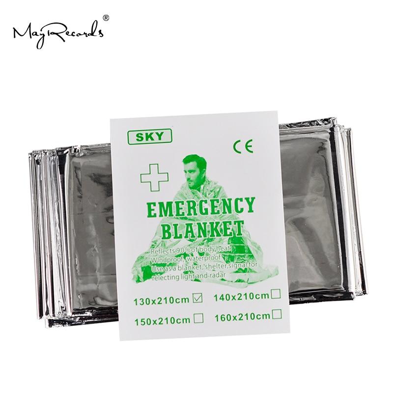 Ücretsiz Kargo Soğuk geçirmez Askeri Ilk Yardım Acil Battaniye - Güvenlik ve Koruma - Fotoğraf 3