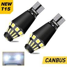 2x W16W Canbus T15 LED 912 921 Car Backup Reverse Light For VW Passat B5 B6 B7 CC Golf 4 5 7 6 Touareg Polo MK7 Jetta MK6 Beetle