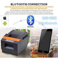 Fabryka sprzedaż bezpośrednia 2019 nowy wysokiej jakości 58mm drukarka termiczna małe biletów drukarka pokwitowań port USB z wykrawacz automatyczny