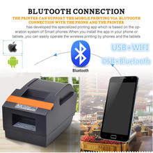 Factory direct sales 2019 new high-quality 58mm thermal printer Small ticket  receipt printer USB port With automatic cutter цены онлайн