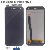 Originele Lcd Voor Sigma X-Treme PQ24 Lcd Touch Screen Digitizer Reparatie Onderdelen Voor Sigma X-Treme PQ24 Screen Lcd Display