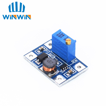 B44 1pcs Smart Electronics DC-DC SX1308 Step-UP Adjustable Power Module Step Up Boost Converter 2-24V to 2-28V 2A dc dc step up boost 2 24 v 5 28 v connect modulo for caricatore