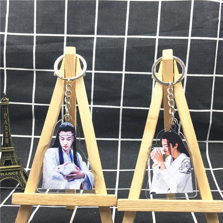 Chen Qing Ling Xiao Zhan Wang Yibo  Key Chain Acrylic Mobile Pendant Keychain