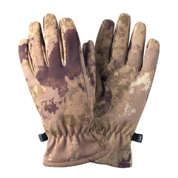 Quality Hunting Gloves Full Finger Plus Velvet Gloves Outdoor Tactical Camouflage Special Forces Cs Ski Riding Wild Hunting 3