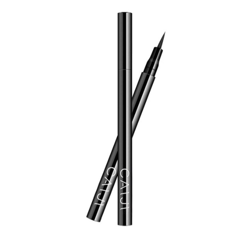 2019 siyah Eyeliner çabuk kuruyan su geçirmez kalem doğru uzun ömürlü değil Blooming sıvı bayan Eyeliner pürüzsüz makyaj aracı