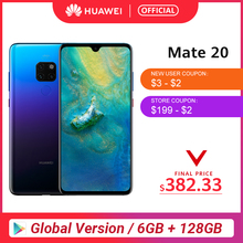 Global Version Huawei Mate 20 6GB 128G Smartphone 6.53 inch Mobile
