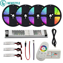 RGB/RGBW/RGBWW Waterproof/Non Waterproof LED Strip Set SMD 5050 DC12V L