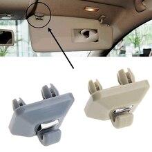 Beige Inner Sun Visor Hook Clip Bracket Hanger For Audi A1 A3 A4 A5 Q3 Q5