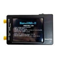 vhf uhf Aokin NanoVNA-H וקטור Network Analyzer אנטנה מנתח 50kHz ~ 1.5GHz VNA 2.8 אינץ LCD HF VHF UHF UV עם קייס פלסטיק (2)
