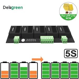 Image 1 - LIFEPO4,LTO, 폴리머, LMO,NCM 리튬 이온 배터리 용 QNBBM 5S 15V 액티브 밸런서 이퀄라이저 BMS 18650 DIY Pack
