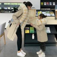 Mom & Baby Clothes Children thicker warm Faux Fur Jacket Imitation fur hooded Overcoat Modis Kids Parka Jacket Outerwear Y2246