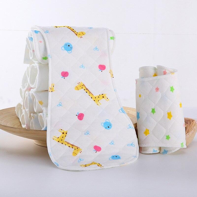 Детские моющиеся многоразовые подгузники из настоящей ткани с карманом, подгузники, чехлы для подгузников, костюмы для новорожденных и горшков, один размер, подгузники с героями мультфильмов - Цвет: 1pc Insert