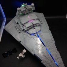 цены LED Light Set For 05027 Imperial star Destroyer wars Compatible with 10030 Building lepinblocks Bricks Educational Toys Gifts