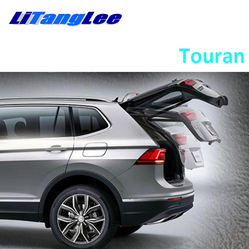 LiTangLee Car Electric Tail Gate Lift Trunk Rear Door Assist System For Volkswagen Touran 2015~2019 Original Key Remote Control