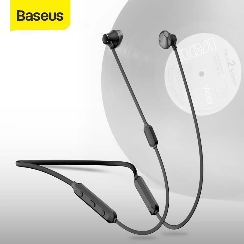 Baseus S11A Bluetooth Wireless Earphones Sport Bluetooth V4.2 Headset Earphone for iPhone Xiaomi Handsfree Bluetooth Earbuds|Bluetooth Earphones & Headphones|   - AliExpress