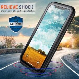 Image 3 - Ударопрочный чехол для iPhone 7 8 Plus X XS XR 11 Pro Max полный корпус Броня бампер противоударный Прозрачный чехол для 11pro Coque