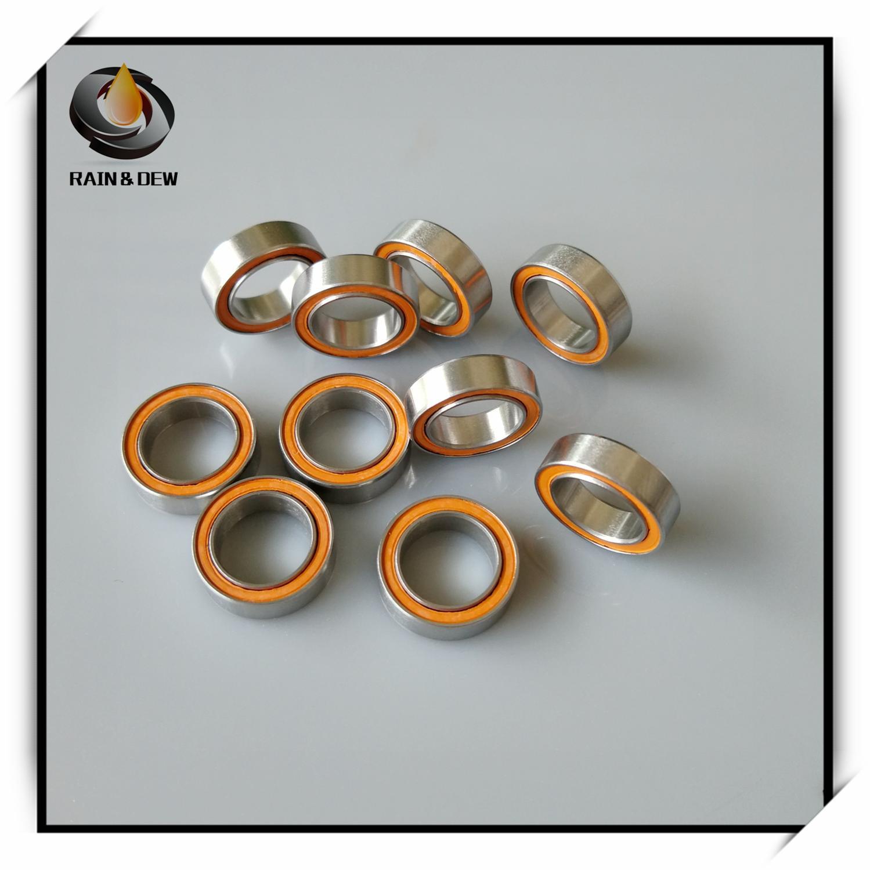 1Pcs  SMR128 2RS CB ABEC7 8X12X3.5 Mm MR128 Stainless Steel Hybrid Ceramic Ball Bearing RC Model  Bearing Set