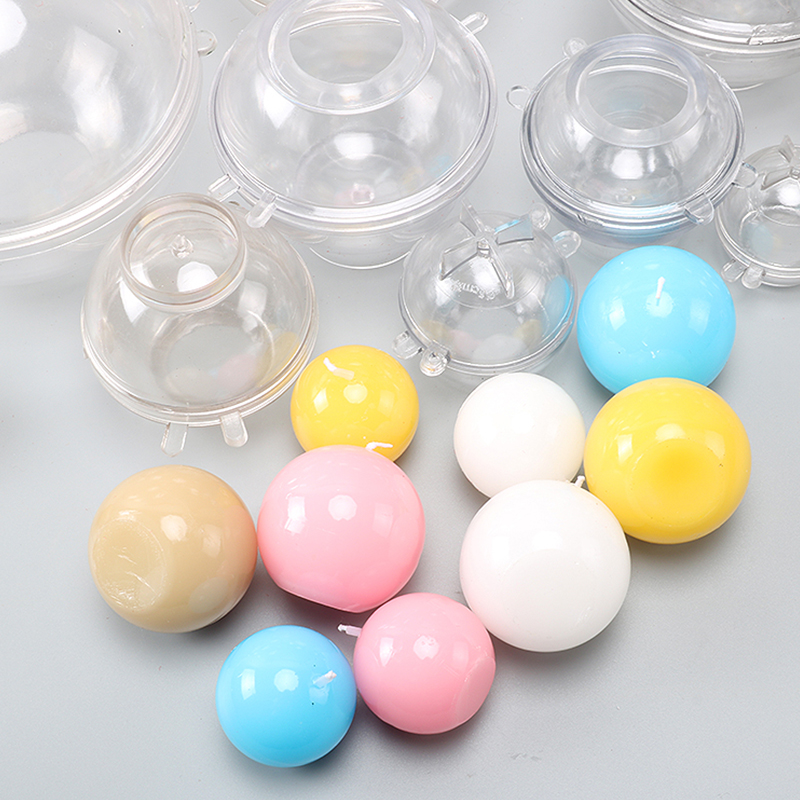 Spherical Shape DIY Handmade Candle Mold Multi Size Diameter 3 Candle Form Diy Moulds For Home Decoration Lz36