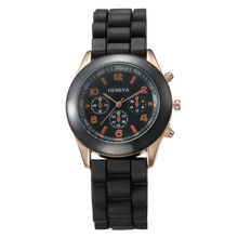 Simple Kids Watches Boys Jelly Color Watches Fashion