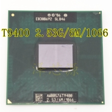 New T9400 CPU 6M Cache,2.53 GHz,1066 MHz FSB Socket 478 for GM45 PM45