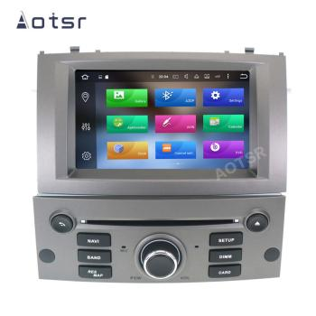 AOTSR 1 Din Car Radio For Peugeot 407 2004 - 2010 Multimedia Android 10 Player Auto Stereo GPS Navigation DSP AutoRadio IPS Unit image