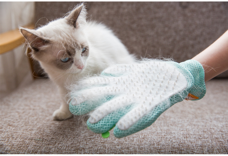 Универсальные варежки для удаления шерсти кошек перчатки груминга