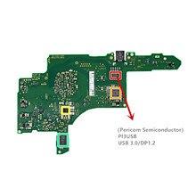 Chip IC Semiconductor para consola de juegos nintendo Switch NS NX Joy-Con, piezas de reparación Mothebroard, USB 3,0/DP1.2 PI3USB, Original