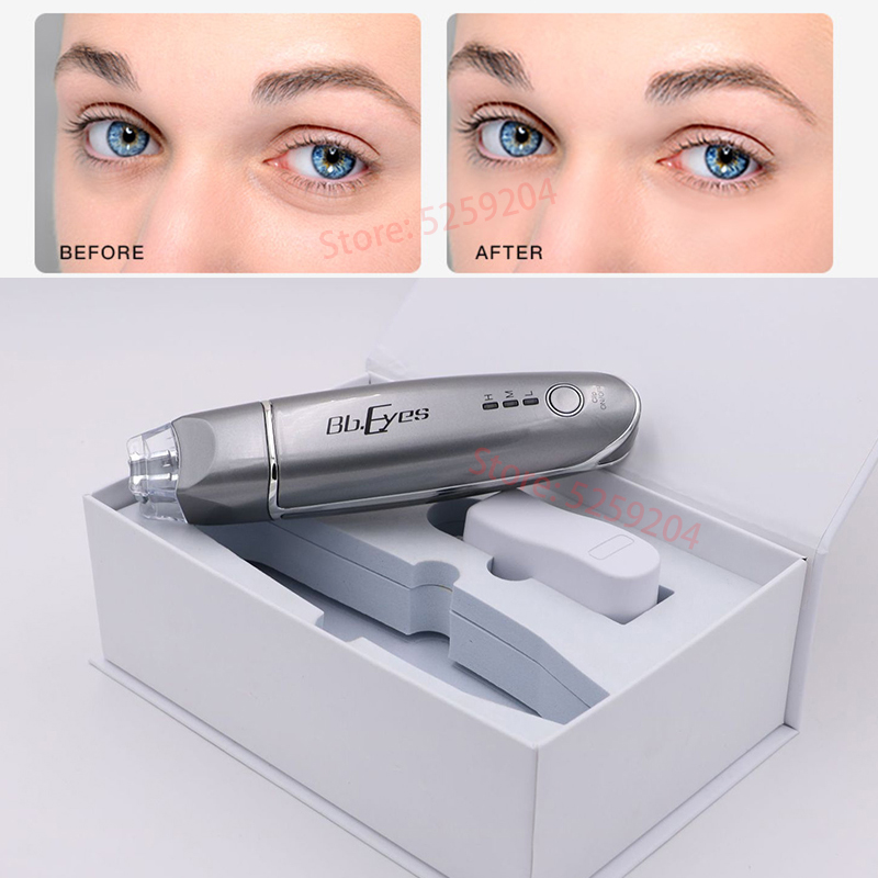 Mini EMS microcurrent bb eyes face lifting Beauty Instrument Remove Wrinkles Dark Circles Puffiness Relaxation EMS Eye Massager