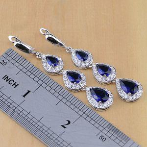 Image 4 - Комплект из колье, серёг, кольца и браслета, из серебра 925 пробы