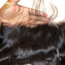 وصلات شعر أمامية شفافة 13 × 6 شعر برازيلي طبيعي سويسري ريمي وصلات شعر طبيعي عالي الدقة من الدانتيل