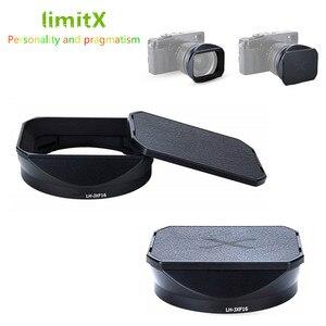 Image 1 - Bajonett Gewidmet Metall Objektiv Haube für Fuji Fujifilm Fujinon Objektiv XF 16mm F 1,4 R WR ersetzt LH XF16 Objektiv haube