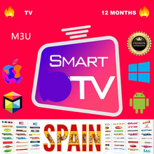 Stable Premium 12 months Abonnement IPTV Spain With 4K HEVC VOD Movies For Xtream Code m3u Smart IPTV Smarters Pro ios pc