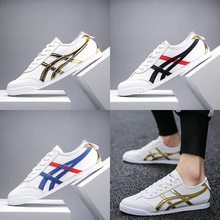 Lente Mannen Casual Sneakers Fashion Ademend Toevallige Witte Schoenen Antislip Slijtvaste Mannen Sportschoenen