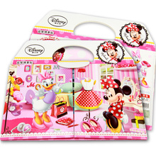 bubble stickers authentic Mickey Minnie children's stickers this scene sticker toys Christmas gifts