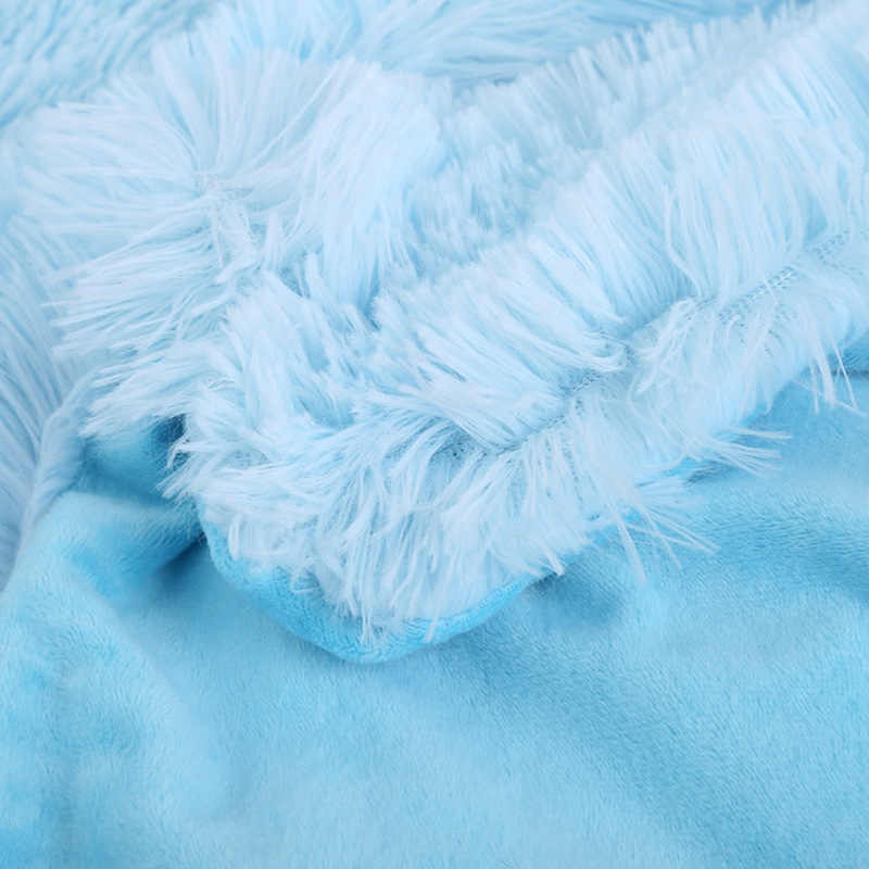 خفيفة الميكانيكية غسل المرجان المخملية بطانية البلايد سوبر الدافئة لينة البطانيات رمي على أريكة/السرير/السفر خليط المفرش الصلبة