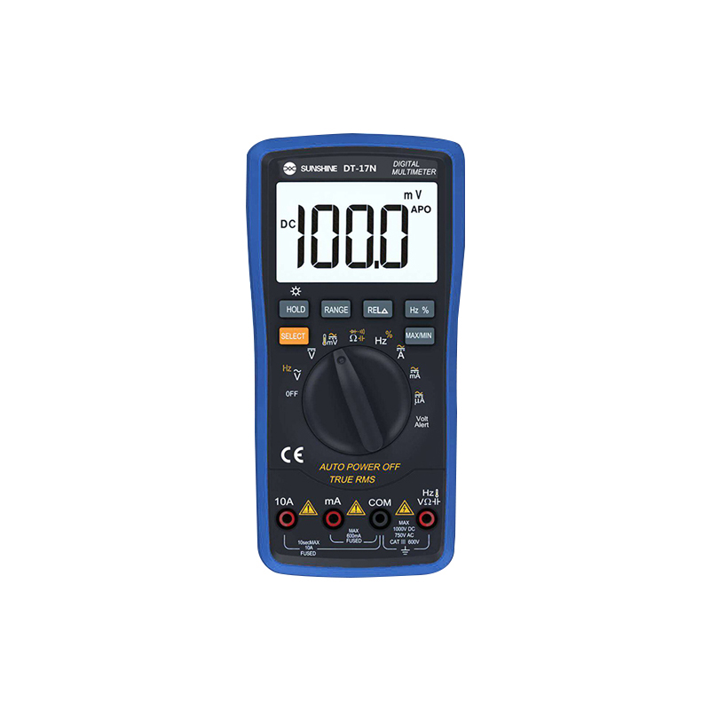 Multimeter Fully Automatic SUNSHINE DT-17N High Precision Digital Display AC DC Voltage And Current Resistance Measurement