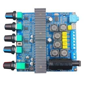 Image 5 - Bluetooth 5.0 TPA3116D2 Subwoofer amplifikatör kurulu 2.1 kanal yüksek güç ses Stereo amplifikatör kurulu 2*50W + 100W DC12V 24V AMP