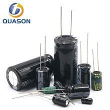 5 шт. 250 В алюминий электролитический конденсатор 1 мкФ 2,2 мкФ 3,3 мкФ 4,7 мкФ 10 мкФ 22 мкФ 33 мкФ 47 мкФ 100 мкФ 220 мкФ 330 мкФ