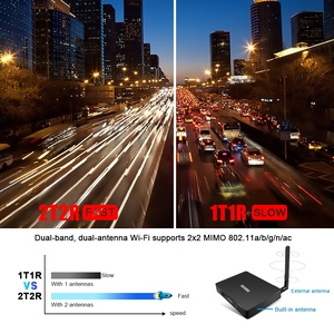 Image 2 - Lettore multimediale astuto di MECOOL K7, Android 9.0 TV Box 4G 64G Amlogic S905X2 2.4G/5G WiFi USB 3.0 TV Box