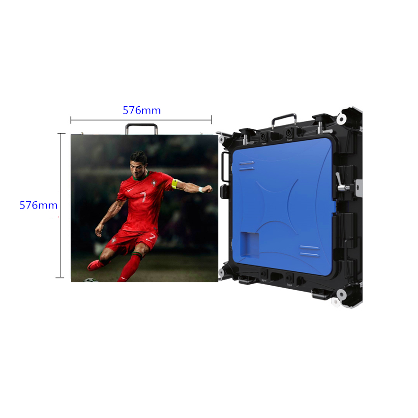 P3 576*576mm SMD1921Outdoor <font><b>LED</b></font> Display Screen Die Casting Aluminum Cabinet Video Wall Rental <font><b>LED</b></font> <font><b>Advertising</b></font> <font><b>Billboard</b></font> image