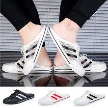 Mode femmes hommes été pantoufles plage respirant anti dérapant sandales jardin pantoufles chaussures