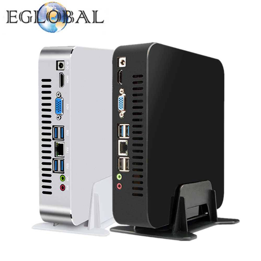 EGLOBAL Gaming minikomputer Intel i7-9700 i5-9400 i3-9100 Windows 10 pulpit platforma PC Linux Nettop HTPC UHD630 8 * usb wifi