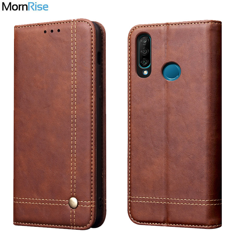Luxury Retro Slim Leather Flip Cover For Huawei <font><b>Honor</b></font> <font><b>10i</b></font> <font><b>Case</b></font> Wallet Card Stand Magnetic Book Cover For <font><b>Honor</b></font> 20i Phone <font><b>Case</b></font> image