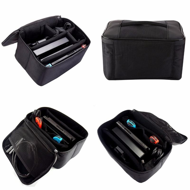 cheapest Portable Storage Bag for Nintend Switch High Capacity Carrying Bag Travel Game Storage Case Game Accessories Bag